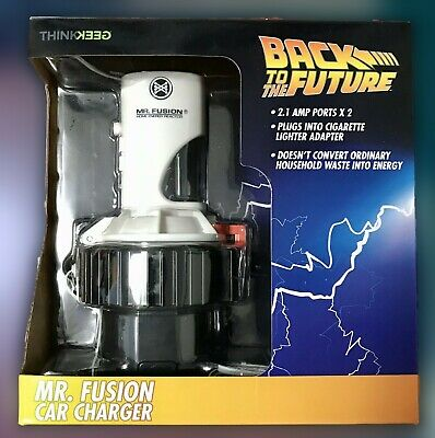 Back To The Future Mr. Fusion USB Phone Charger for your Car - ThinkGeek - New