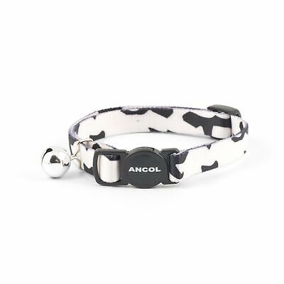 Ancol Camouflage Cat Collar Black