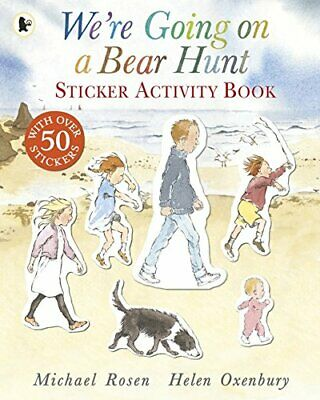 We're Going on a Bear Hunt: Sticker Activity Book, Paperback,  by Michael Rosen