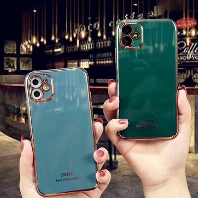 iPhone 11 Pro Max XS XR X 7/8 Plus Shockproof Slim TPU Case Cover  For Apple