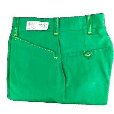 Vintage 70s John Deere Green Protexall Work Pants 29 x 32 New with Tags