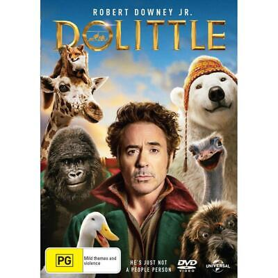 Dolittle  (Dvd,2020) *In Stock Now*