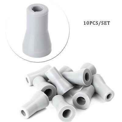 10pcs Dental Oral SE Saliva Ejector Rubber Valve Snap Tip Adapter Replacement