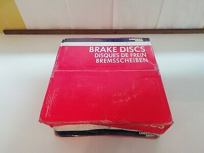 Landrover Freelander  1997-2000 Front Brake Discs And Pads Solid Unipart Brand