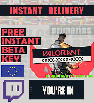 Valorant Closed-Beta-Account EUW Instant Delivery - Fresh account