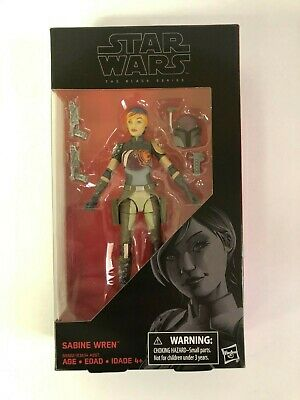 "Star Wars Black Series 6"" Sabine Wren Action Figure Brand New #33"