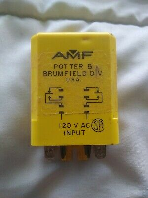 Potter Brumfield Time Delay Relay Cua-42-70010