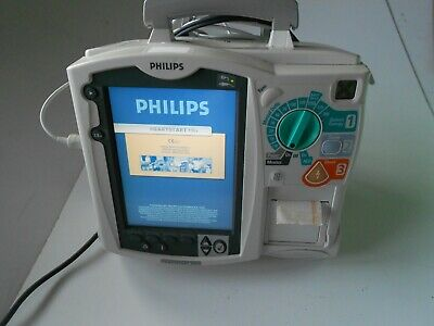 PHILIPS MRx Monitor 12 Lead QCPR ECG SpO2 NIBP CO2 Temp IBP AED Free UK P&P.