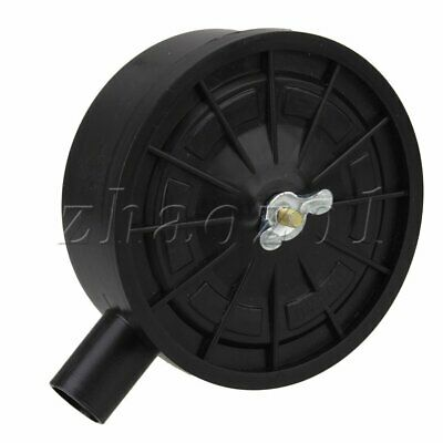 "Plastic Air Compressor Intake Filter  0.76"" Thread Manual Drive Method"