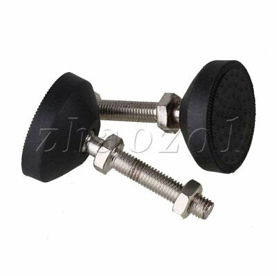 4Pcs Universal Joint Adjustable Leg Furniture Leveling Feet M10 Thread