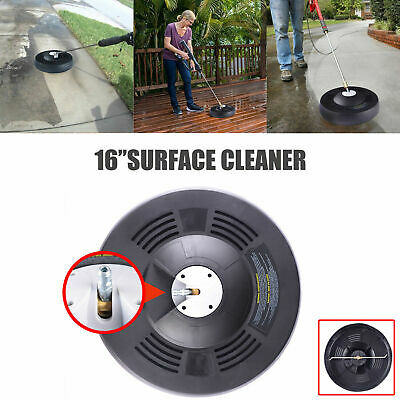 """16"""" Surface Cleaning Cleaner For Pressure Washer Quick Connector Up to 3k psi"""