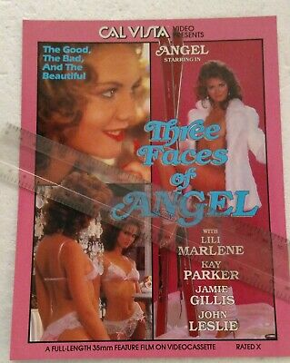 Angel in Three Faces of Angel Promo Ad Slick Poster