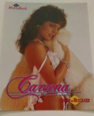 Careena in Young & Restless Video  Promo Ad Slick Poster