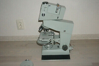 Carl Zeiss Jena Peraval Interphako Microscope DIC Differential Interference