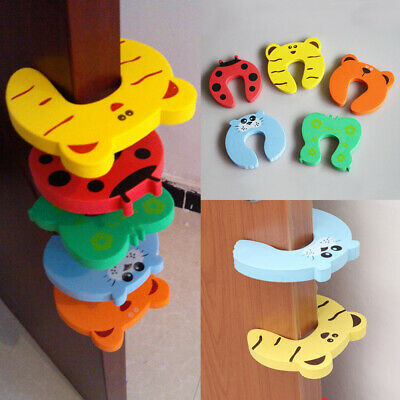 4pcs toddler Baby Protect Safety Security Children Doorstop Drawer Cupboard lock