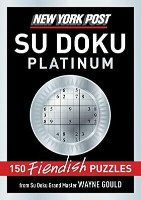 New York Post Platinum Su Doku, Paperback  by Wayne Gould