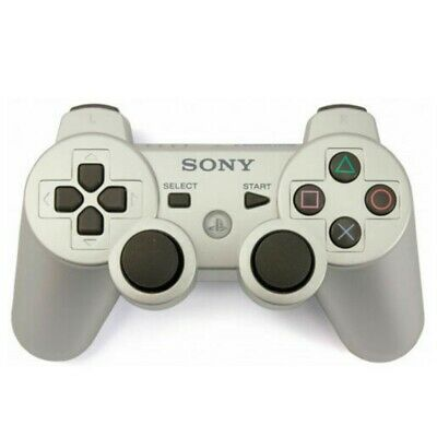 NEW Sony PlayStation 3 Wireless PS3 Controller DualShock3 SixAxis Gamepad Silver