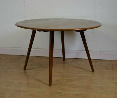Ercol Drop Leaf Table, Splayed Legs, Mid Century, 1960s