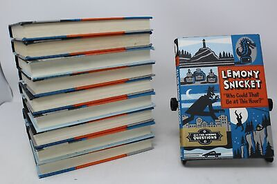 """Lot of 10 """"All the Wrong Questions"""" Hardcover Lemony Snicket"""