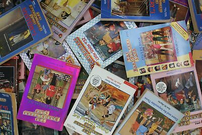 Lot of 10 of The Baby-sitters Club & Little Sister by Ann M. Martin Books MIX