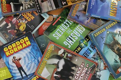 Lot of 10 Gordon Korman Paperback Books MIX