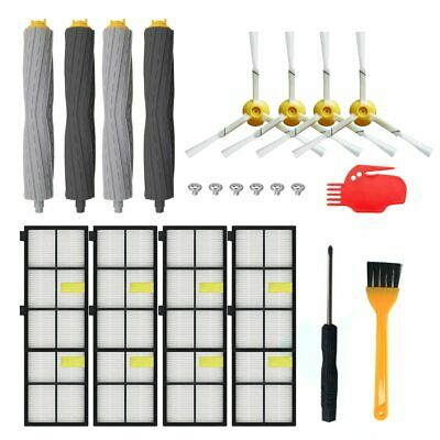 Replacement Part HEPA Filter Brush Kit For iRobot Roomba 860 870 880 960 966 980