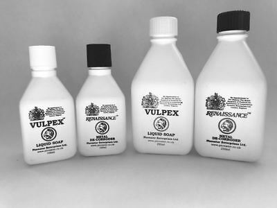 Vulpex Liquid Soap and Renaissance Metal de-Corroder Twin pack