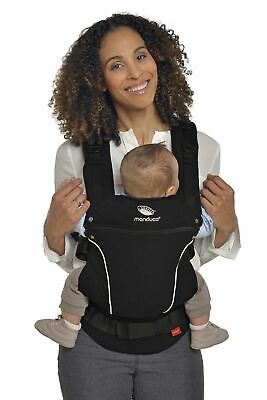 Manduca First Baby Carrier> PureCotton NightBlack <Porte Bebe Physiologique, Cot