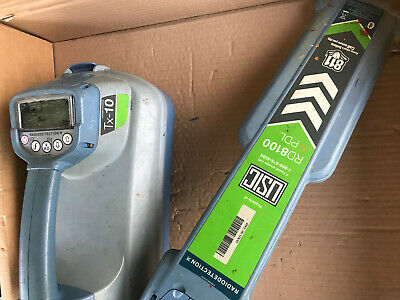 SPX RADIODETECTION RD8100 PDL CABLE PIPE LOCATOR RECEIVER & Tx-10 TRANSMITTER