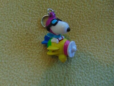 PEANUTS SNOOPY RED BARON RING STYLE KEY CHAIN