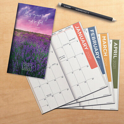 2021-2022 Psalms 2-Year Small Monthly Planner