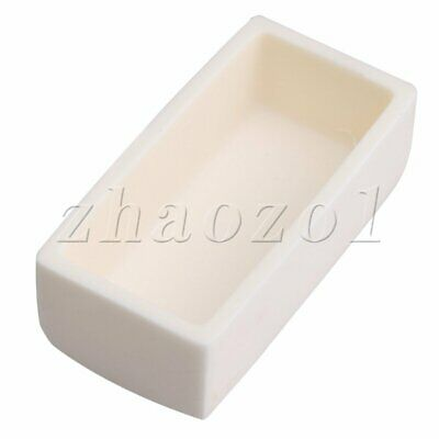 Aluminum  Rectangle Crucible for Anhydrous Na2CO3 Oother Weak Bases Substances