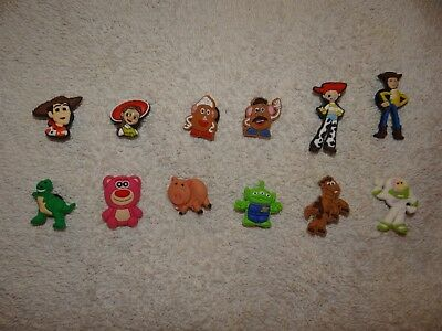 Toy Story Shoe Charms Plug Button Clogs Wristband Bracelet Accessories NEW