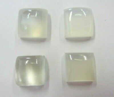 Natural Moonstone Square High Dome Cabochon 11mm Cab Gemstones Gems Jewelry