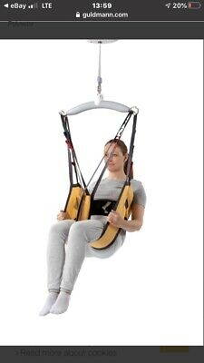 Guldmann 281541 SMALL Active Micro 560 lbs Patient Toilet Sling w/ Support Strap