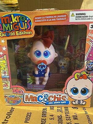 Nerlie Distroller Neonate MAC /& CHIS Mikro Amiguis Baby Doll World Edition Ksimerito Edition in Spanish