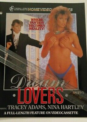 Tracey Adams in Dream Lovers Video Promo Ad Slick Poster