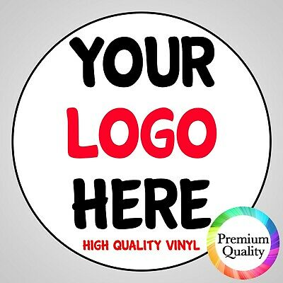 LOGO Stickers Printed Round - Custom Logo Labels - Postage Labels - Personalised