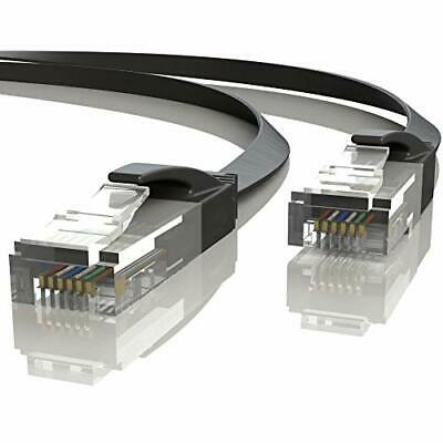 Mr. Tronic 20m Ethernet Network Patch Cable Flat   CAT6, AWG24, CCA, UTP, RJ45