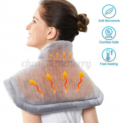 Electric Heating Wrap Pad with Fast Heating Auto Shut Off for Neck Shoulder