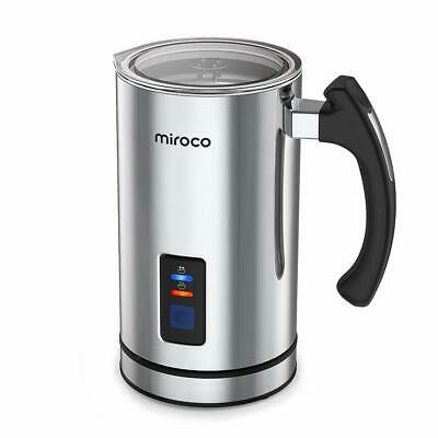 Milk Frother, Miroco Electric Milk Steamer Liquid Heater with Hot & Cold Milk