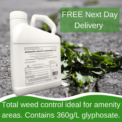 Monsanto Amenity Glyphosate Xl 5L Total Weed Control