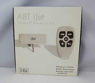 ABT IJETRS01 Wireless RF Remote for iPod - Range up to 150 Feet