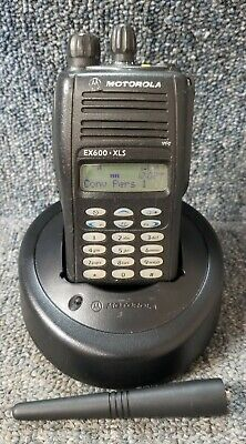 EX600XLS UHF 128 Channel Radio 450-512 with accessories Buy 1-3 units VERY GOOD