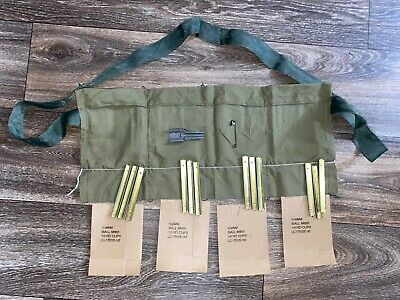 USGI Repack Kit 5.56 Stripper Clips Bandolier, Complete with Inserts and Guide