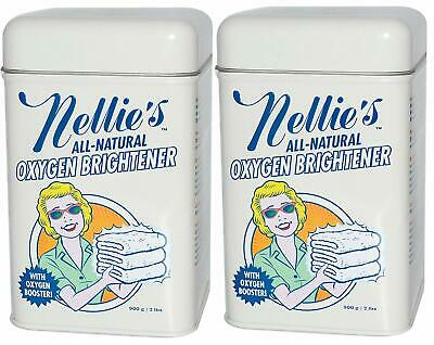 Nellie's - All-Natural Oxygen Brightener - Pack of 2 2lb Tins 4lb total