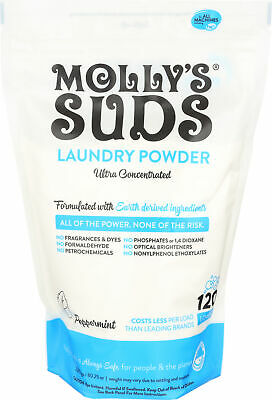 Molly's Suds Laundry Detergent 120 Loads
