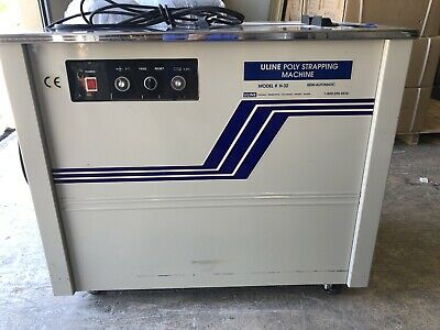 Uline Poly Strapping Machine H-32