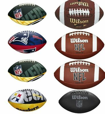 American Football - Wilson Nfl Balls - All Sizes And Designs - Official Merchand