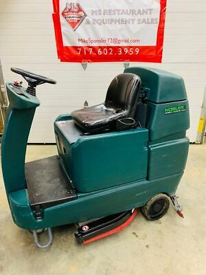 "Tenant/Nobles Speed Scrub Rider 32"" floor Scrubber Batteries Included Tested & W"